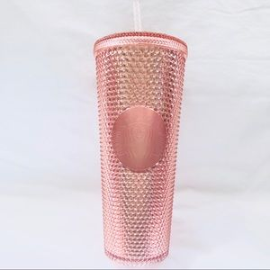 STARBUCKS 🌸 24oz Studded Rose Gold Tumbler